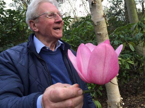 Legendary horticulturalist Maurice Foster