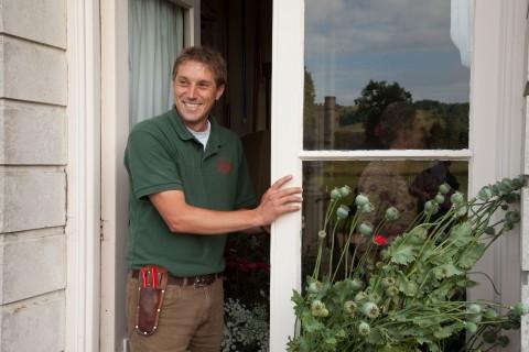 Head Gardener, Tom Brown.