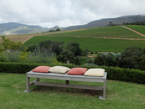 Who could resist a sundowner on this bench?