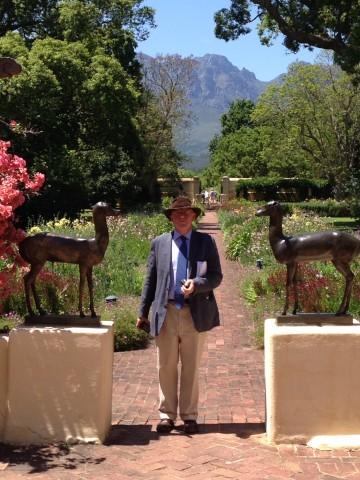 James Bolton at Vergelegen, South Africa.