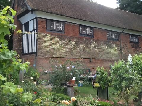 The late 16th-century grammar school now a Masonic hall.