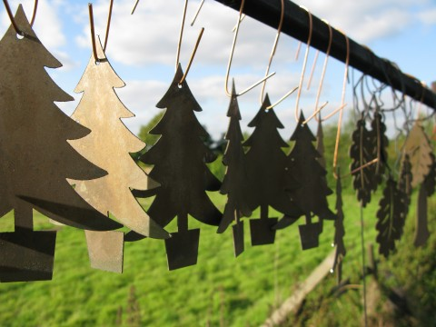 Novel Christmas tree decorations.
