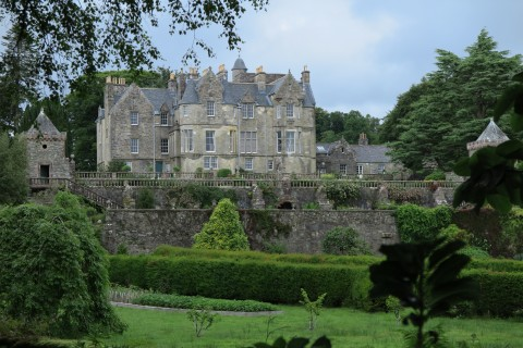 A fine example of the Scottish baronial style.  Torosay Castle designed by David Bryce.