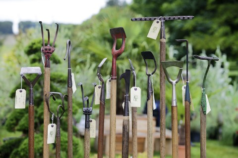 Tools from Garden and Wood