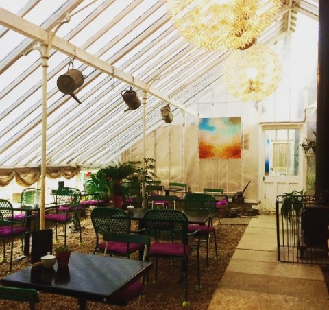 The Vinery Café, the Walled Nursery, nr Hawkhurst