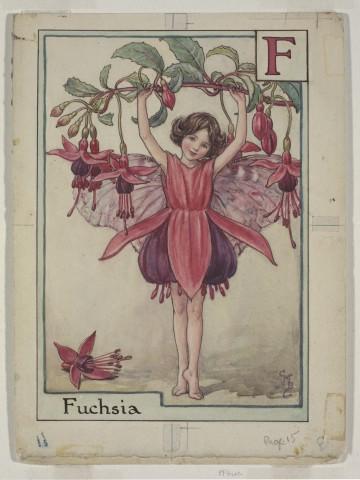 The Fuchsia Fairy © The Estate of Cicley Mary Barker 1934