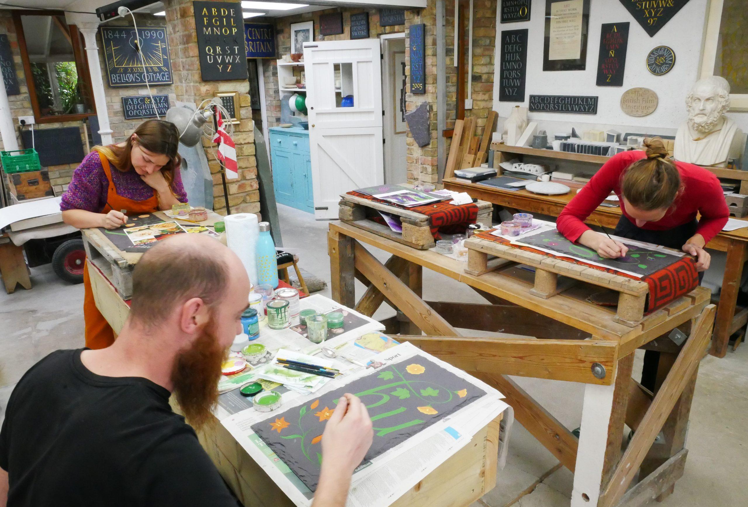 The Cardozo Kindersley workshop