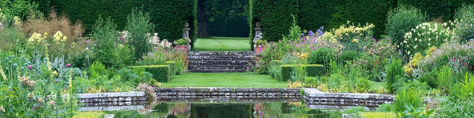 Doddington Place Gardens - The Sunken Garden